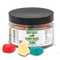 Kentucky's Best Hemp Gummy Bears - 25ct 250mg