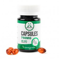 Green Roads World Capsules - 30ct bottle 750mg
