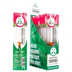 Green Roads Daily Dose - 20ct Display Box STRAWBERRY AK (1ml 7mg per piece)