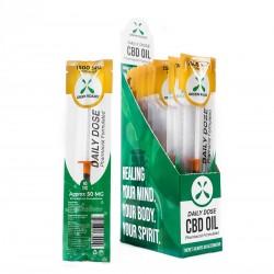 Green Roads Daily Dose - 20ct Display Box  1500mg Formula NATURAL (1ml 50mg per piece)