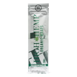 High Hemp 100% Organic Wraps - Vegan 25/2ct