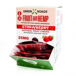 Green Roads On the Go Gravity Box 30/25mg Fruit & Hemp Strawberry