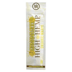 High Hemp 100% Organic Wraps - Banana Goo 25/2ct