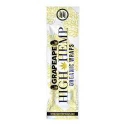 High Hemp 100% Organic Wraps - Grape Ape 25/2ct