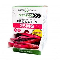 Green Roads On the Go Gravity Box Froggies 30/25mg SOURS