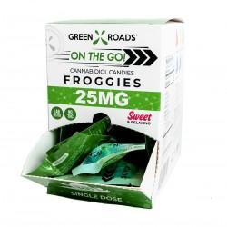 Green Roads On the Go Gravity Box Froggies 30/25mg SWEET