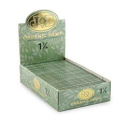 "JOB Organic Hemp 1.25"" Papers - 24ct Box"