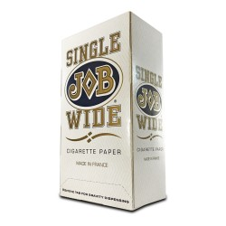 JOB Single Wide Papers White - 24ct Box