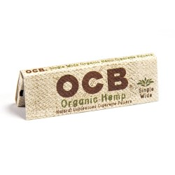 OCB Organic Hemp Papers - Single Wide 24ct Box
