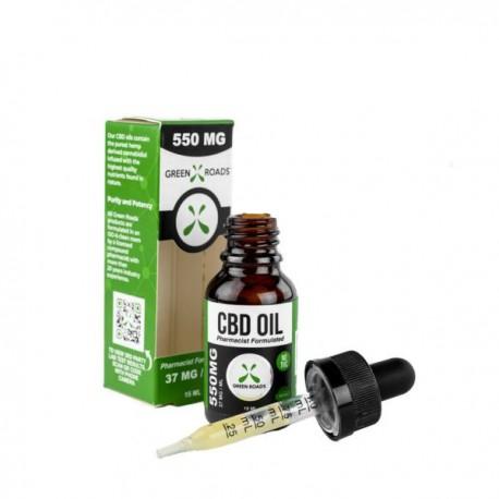 Green Roads Oil - 15ml 550mg