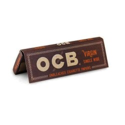 OCB Virgin Papers - Single Wide 24ct Box