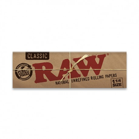 """RAW Papers - 645 Natural Unrefined 1.25"""" 24ct Box"""