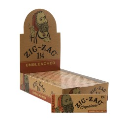 """Zig Zag Papers - Unbleached 1.25"""" 24ct Box"""