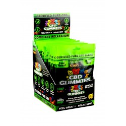 Hemp Bomb Gummies 12ct Display Melatonin 75mg