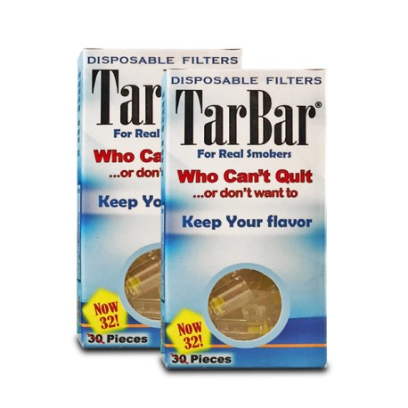 TarBar Disposable Cigarette Filter 24ct/display