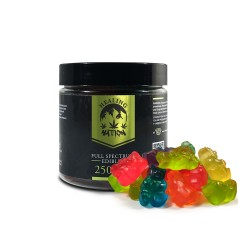 TKO Healing Nation CBD Gummy Bears Full Spectrum - 250mg