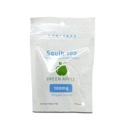 Squib CBD - Gummies - 100mg (18g) 1/10ct - GREEN APPLE