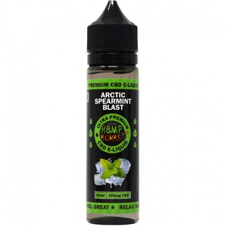 Hemp Bomb  60ml  300mg  -   Artic Spearmint Blast