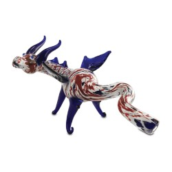 ANIMAL PIPE - DOUBLE WAVE DRAGON