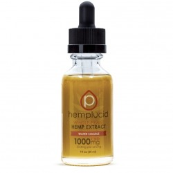 Hemplucid 30ml 1000mg Tincture - WATERSOLUBLE