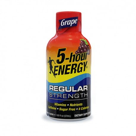 5 Hour Energy 12ct Grape