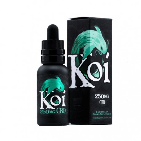KOI Eliquid 30ml (250mg) - JADE (Watremelon Green Apple Sour)