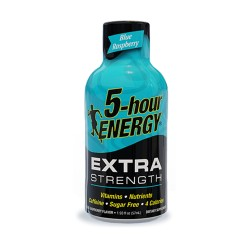 5 Hour Energy 12ct Extra Strength Blue Raspberry