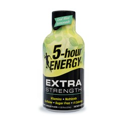 5 Hour Energy 12ct Extra Strength Cool Mint Lemonade