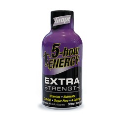 5 Hour Energy 12ct Extra Strength Grape