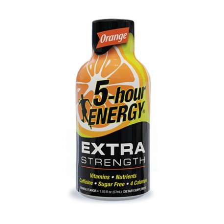 5 Hour Energy 12ct Extra Strength Orange