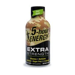 5 Hour Energy 12ct Extra Strength Sour Apple