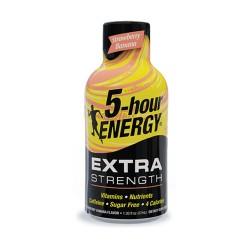 5 Hour Energy 12ct Extra Strength Strawberry Banana