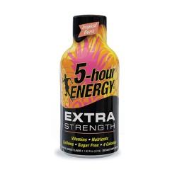5 Hour Energy 12ct Extra Strength Tropical Burst