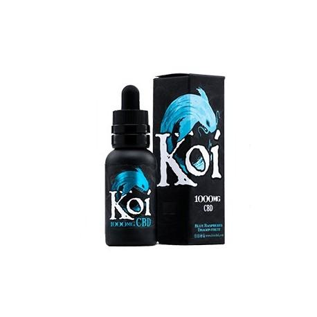 KOI Eliquid 30ml (1000mg) - BLUE (Blue Raspberry Dragon Fruit)