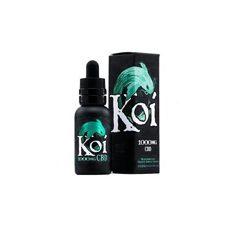 KOI Eliquid 30ml (1000mg) - JADE (Watremelon Green Apple Sour)