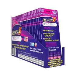 Stacker 3 - 24ct Blister Pack - XPLC (Purple)