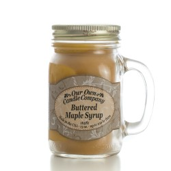 Our Own Candle 16oz  BUTTERED MAPLE SYRUP