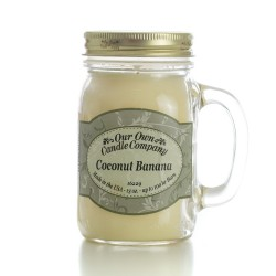 Our Own Candle 16oz  COCONUT BANANA