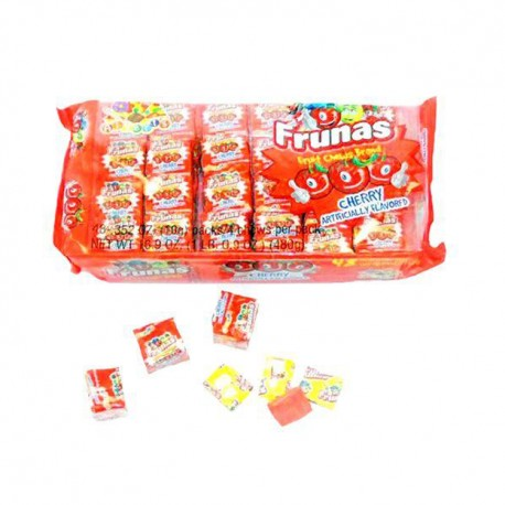 Frunas Fruit Chews Cherry 48ct