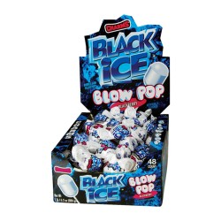Charms  $0.25 Blow Pop 48ct - Black Ice