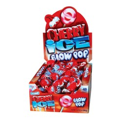 Charms  $0.25 Blow Pop 48ct - Cherry
