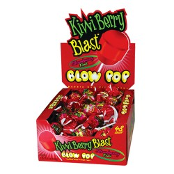 Charms  $0.25 Blow Pop 48ct - Kiwi Berry Blast