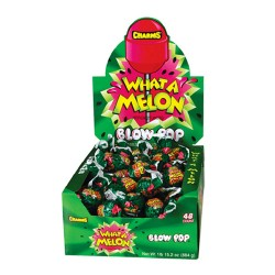 Charms  $0.25 Blow Pop 48ct  - What A Melon