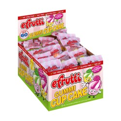 Efrutti Gummy Candy - Cup Cake 60ct