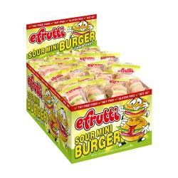 Efrutti Gummy Candy - Sour Mini Burger 60ct