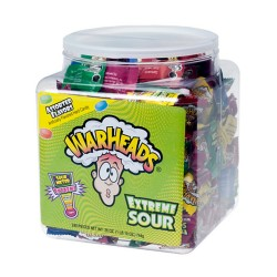 Warheads Hard Candy 240ct Tub