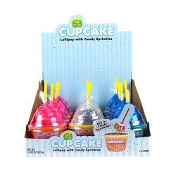 Cupcake Lollipop Dip-N-Lik 12ct
