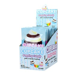 Cupcake Popping Candy 20ct