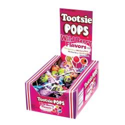 Tootsie Pop 100ct  Wild Berry