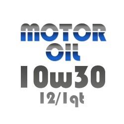 Motor Oil 10w30 12/1Qt